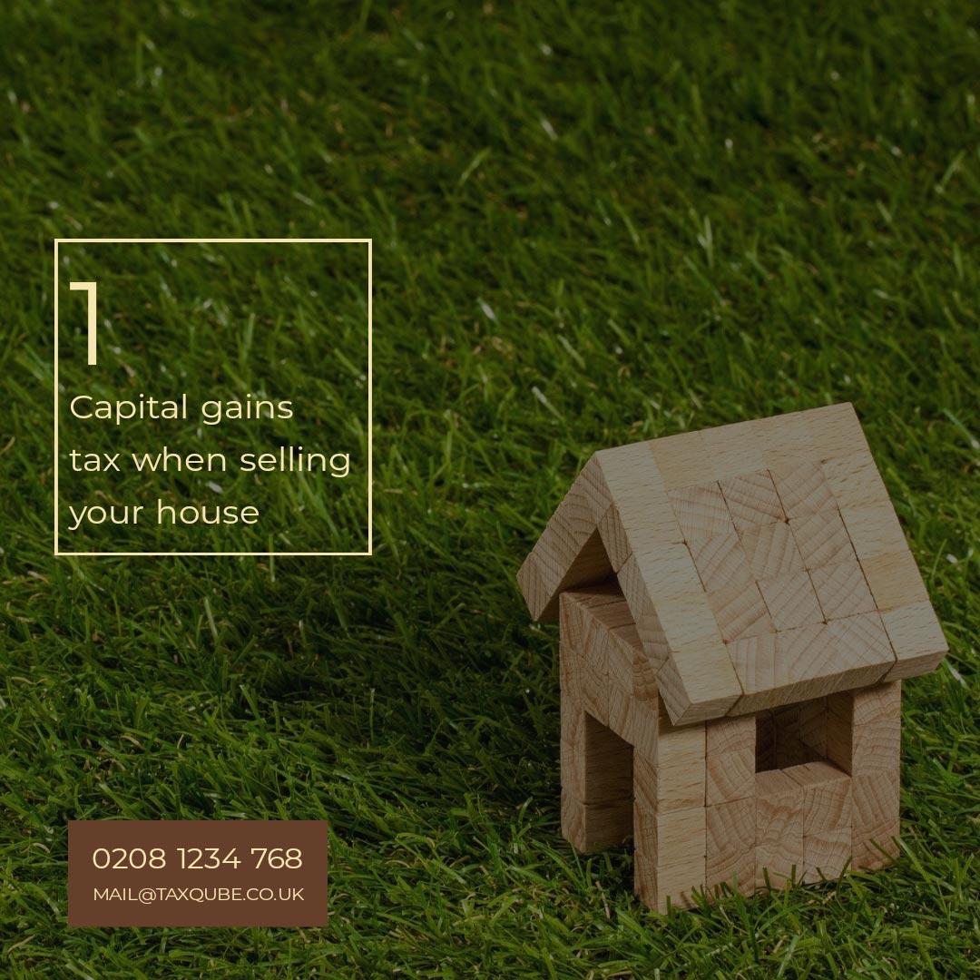 TaxQube™ | Capital gains tax | Sell your house | Property tax | Landlord tax | SPV Tax planning
